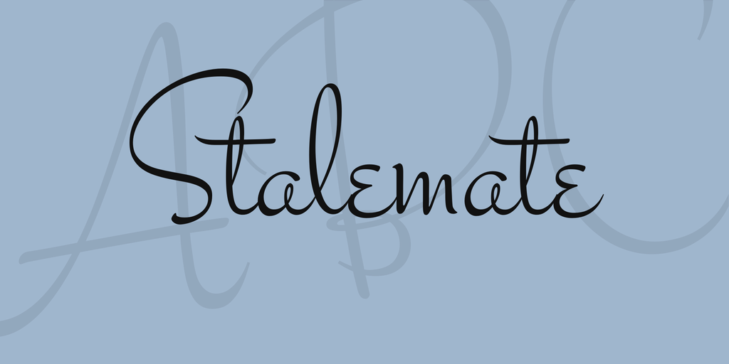 Font Stalemate