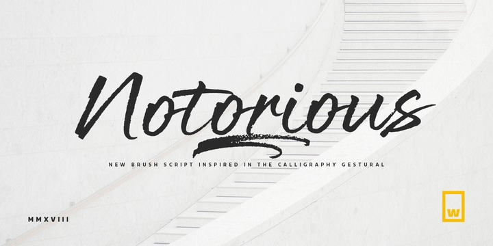 Font Notorious