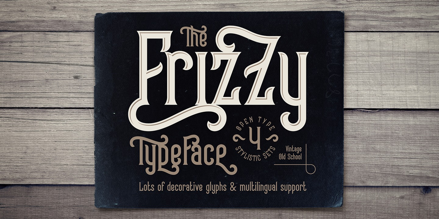 Font Frizzy
